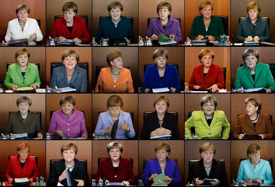 Germany Merkel Women (Copyright 2016 The Associated Press. All rights reserved.)