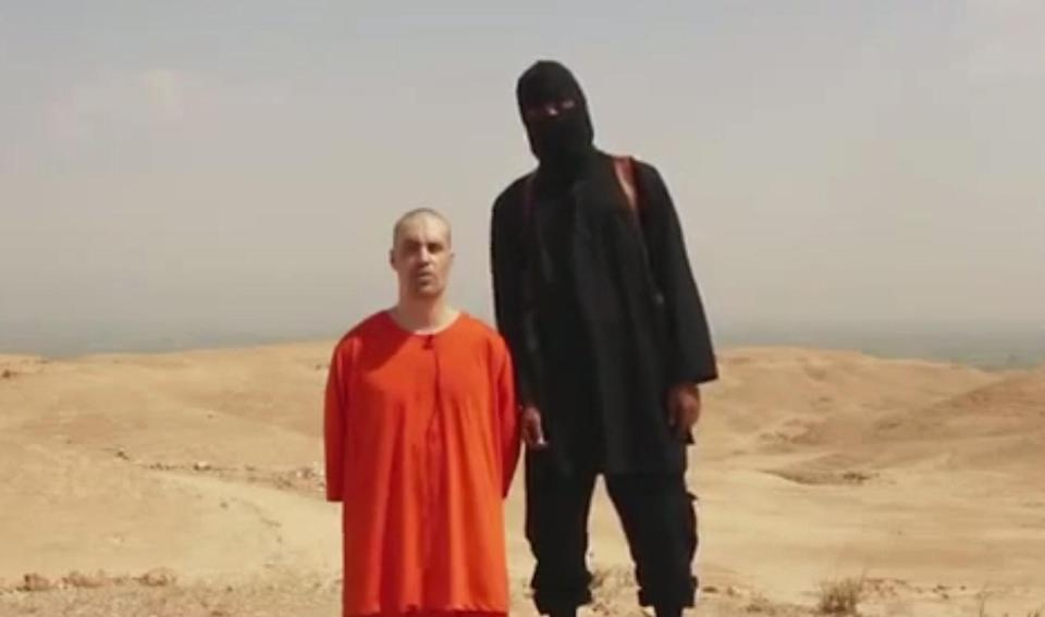 <em>Executions – the group known as 'The Beatles' are thought to be responsible for executions including that of journalist James Foley</em>