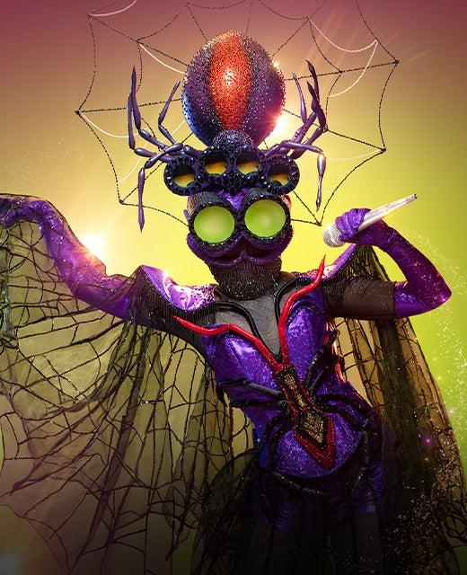 The Spider on The Masked Singer Australia 2019. Photo: Channel 10