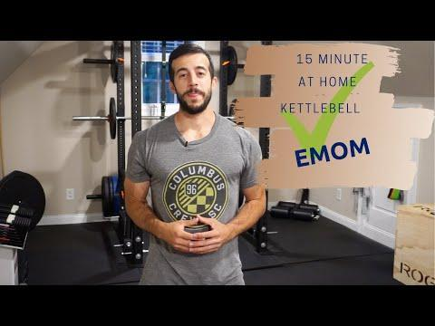 """<p>Have a <a href=""""https://www.womenshealthmag.com/uk/gym-wear/g31728797/best-kettlebells/"""" rel=""""nofollow noopener"""" target=""""_blank"""" data-ylk=""""slk:kettlebell"""" class=""""link rapid-noclick-resp"""">kettlebell</a> handy at home or super keen on <a href=""""https://www.womenshealthmag.com/uk/fitness/workouts/a708012/kettlebell-exercises/"""" rel=""""nofollow noopener"""" target=""""_blank"""" data-ylk=""""slk:kettlebell exercises"""" class=""""link rapid-noclick-resp"""">kettlebell exercises</a>? Pencil this EMOM into your weekly workout routine and get ready for some sweaty swings and tricky farmer's holds. </p><p><a href=""""https://www.youtube.com/watch?v=ZFeM3lpbSr8&ab_channel=StrongholdStrength%26ConditioningCo."""" rel=""""nofollow noopener"""" target=""""_blank"""" data-ylk=""""slk:See the original post on Youtube"""" class=""""link rapid-noclick-resp"""">See the original post on Youtube</a></p>"""
