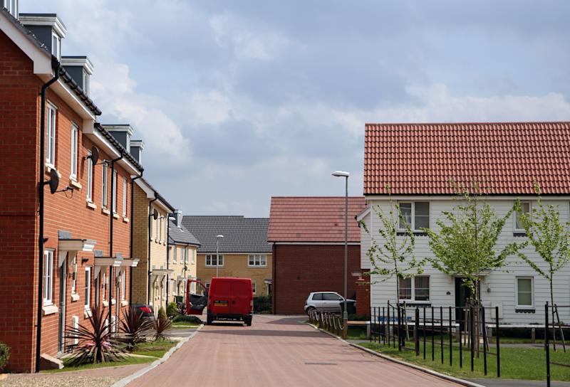 New housing stock at Dunton Fields, Laindon, Essex.