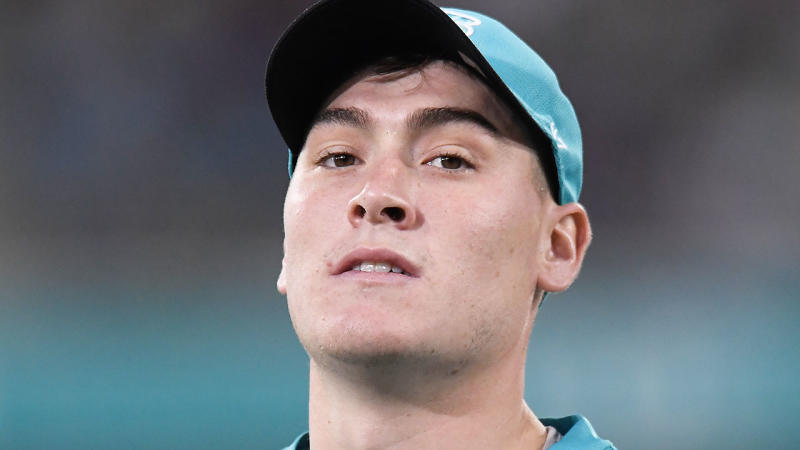 Matthew Renshaw looks on during the Big Bash League. (Photo by Albert Perez/Getty Images)