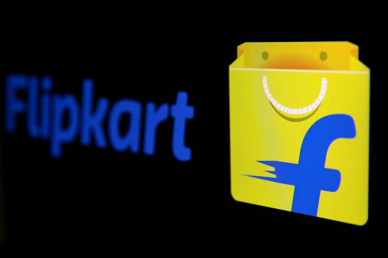 The logo of India's e-commerce firm Flipkart is seen in this illustration picture