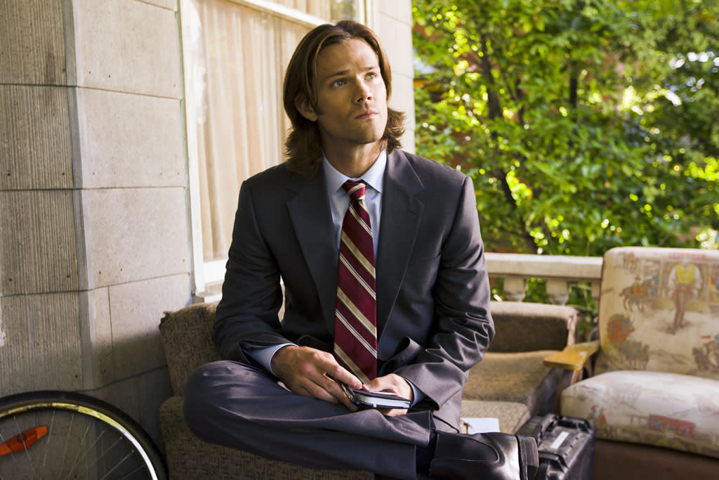 "Jared Padalecki as Sam in the ""Supernatural"" episode, ""Bitten."""