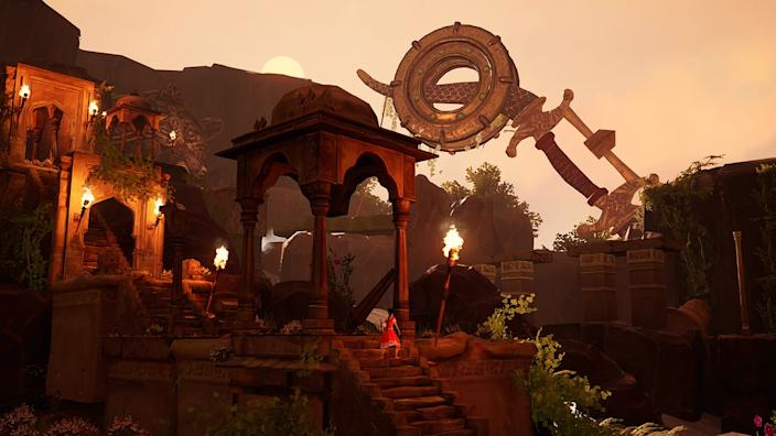 """All the locations in """"Raji: An Ancient Epic"""" pull inspiration from real places. <span class=""""copyright"""">(Nodding Heads Games)</span>"""