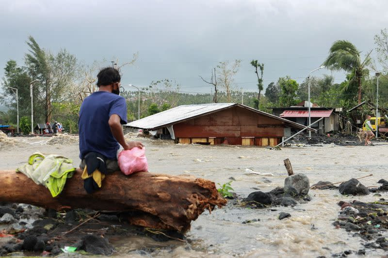 Typhoon Goni aftermath in Albay province