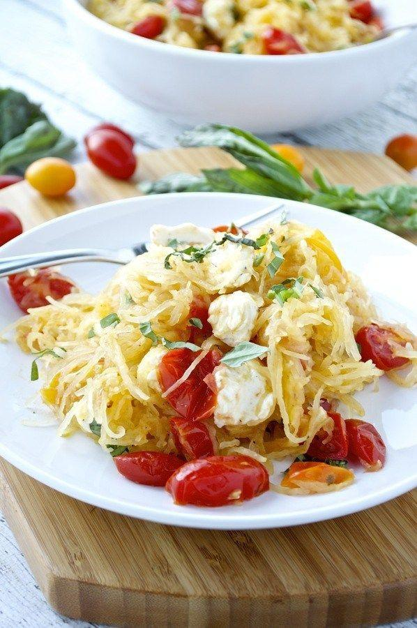 "<p>Life can always use more Caprese.</p><p>Get the recipe from <a href=""http://fashionablefoods.com/2015/09/22/spaghetti-squash-caprese/"" rel=""nofollow noopener"" target=""_blank"" data-ylk=""slk:Fashionable Foods"" class=""link rapid-noclick-resp"">Fashionable Foods</a>.</p>"