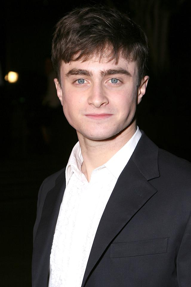"<a href=""http://movies.yahoo.com/movie/contributor/1802866080"">DANIEL RADCLIFFE</a>  Age: 19  Last Project: <a href=""http://movies.yahoo.com/movie/1808475612/info"">Harry Potter and the Order of the Phoenix</a>  Upcoming Project: <a href=""http://movies.yahoo.com/movie/1809791044/info"">Harry Potter and the Half-Blood Prince</a>   Total Domestic Box Office Gross: $1,411,173,590   Harry Potter has made Daniel Radcliffe very famous and very rich, but that hasn't stopped him from raising eyebrows by appearing on stage in London and on Broadway in the very grown-up drama, ""Equus."""