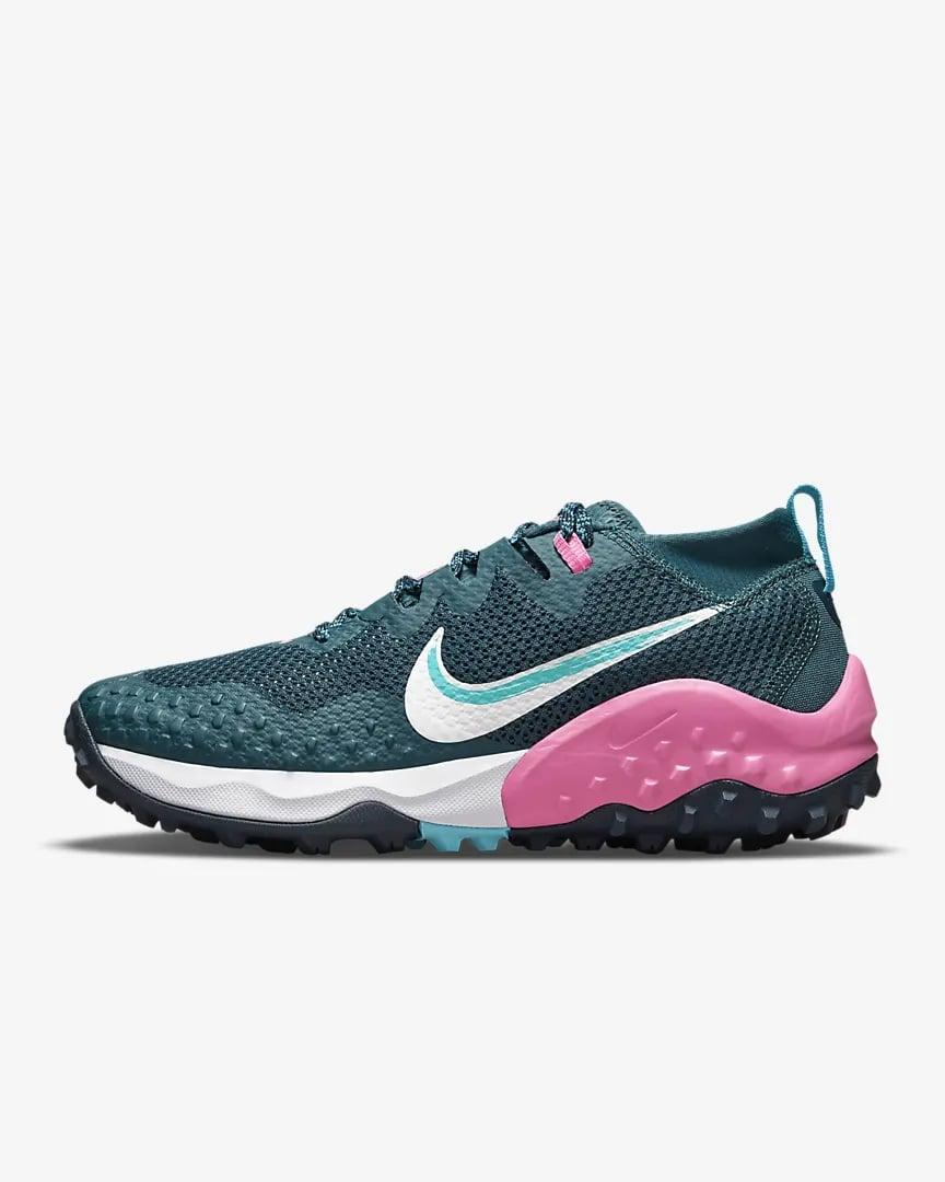 <p>This green <span>Nike Wildhorse 7</span> ($130) is perfect for fall. We also like the pop of pink that comes with it.</p>
