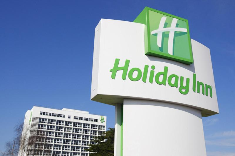 InterContinental Hotels Group is behind the Holiday Inn chain