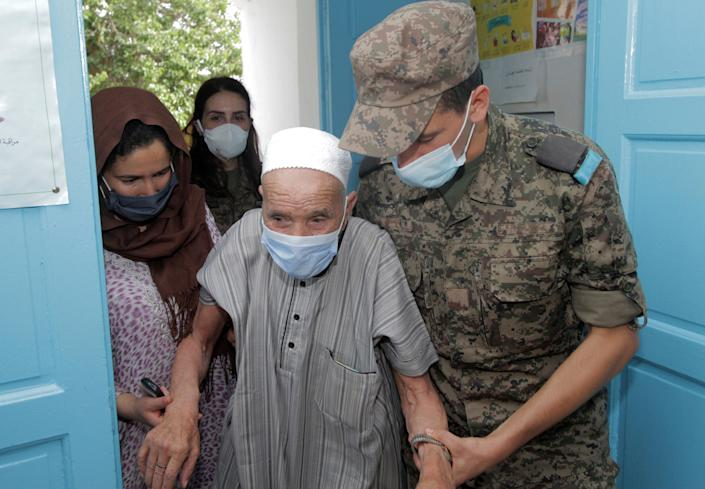 Virus Outbreak Tunisia (Copyright 2021 The Associated Press. All rights reserved)