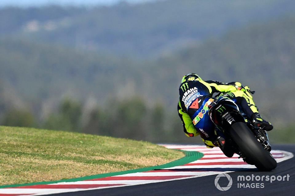 """Valentino Rossi (Yamaha Factory Racing)<span class=""""copyright"""">Gold and Goose / Motorsport Images</span>"""