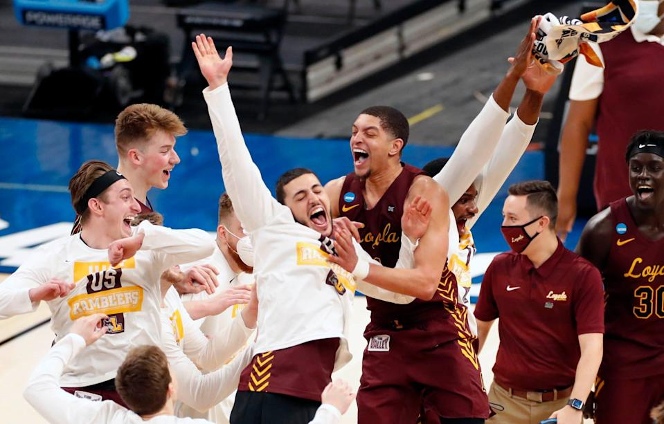 The Ramblers are headed back to the Sweet 16.