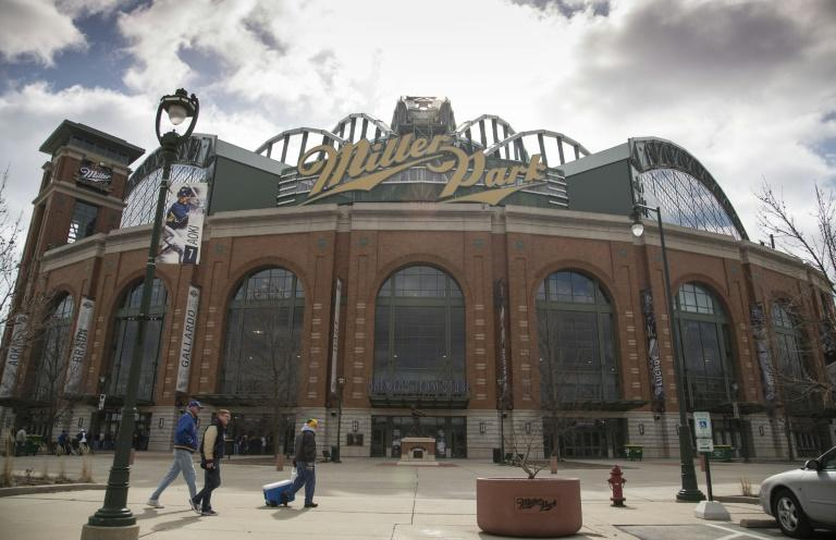 Miller Park was to be the site of the Milwaukee Brewers' MLB home opener Friday