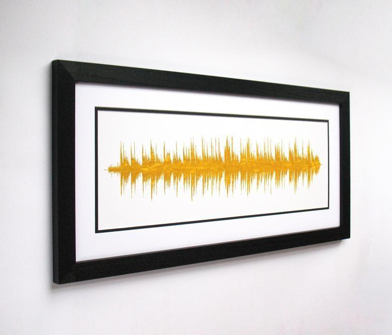 """<p><strong>VoiceAndSound</strong></p><p>etsy.com</p><p><strong>$59.00</strong></p><p><a href=""""https://go.redirectingat.com?id=74968X1596630&url=https%3A%2F%2Fwww.etsy.com%2Flisting%2F478651945%2Fsong-soundwave-any-song-into-art&sref=https%3A%2F%2Fwww.womenshealthmag.com%2Frelationships%2Fg25752244%2Fbest-valentines-day-gifts-for-him%2F"""" rel=""""nofollow noopener"""" target=""""_blank"""" data-ylk=""""slk:Shop Now"""" class=""""link rapid-noclick-resp"""">Shop Now</a></p><p>Do you and bae have a special song? Get it printed in a soundwave print that only you two will know. </p>"""