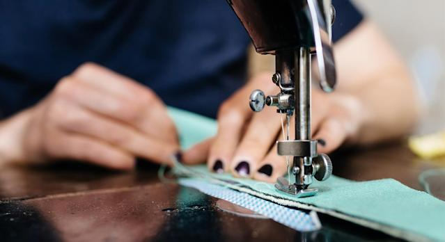 As sewing machine sales soar during lockdown, we have rounded u the top rated designs that are still available to buy now. (Getty Images)