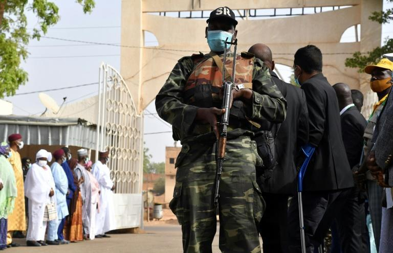 Security was tight in Niamey during last week's elections
