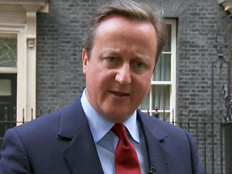 David Cameron had insisted the costs of the Battlebus operation were 'national expenses'