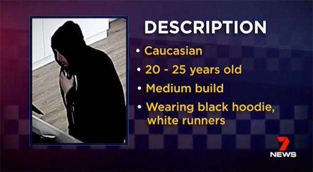 Police released a description of the man. Photo: 7 News