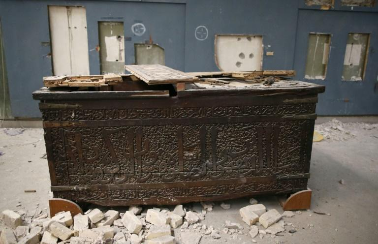 The Islamic State group's occupation of the ancient Iraqi city of Mosul was marked by iconic images of damage to priceless artefacts at the city's museum