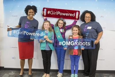 Celebrating International Day of the Girl in Dallas at Texas Instruments with the first ever Girl Powered Flagship event!