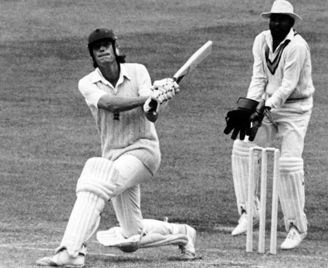 Bob Willis played in 90 Tests for England (PA)