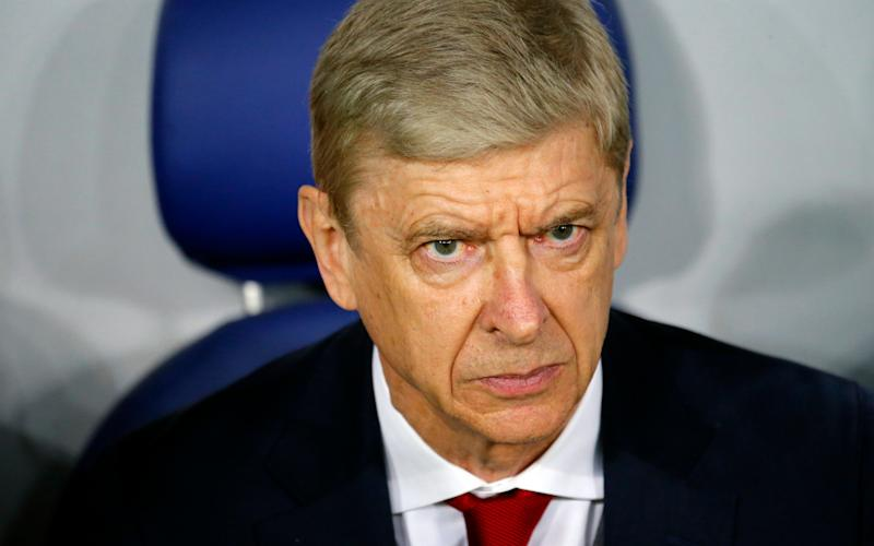 Arsene Wenger ignored questions on his future before Arsenal's second leg against CSKA Moscow - Invision