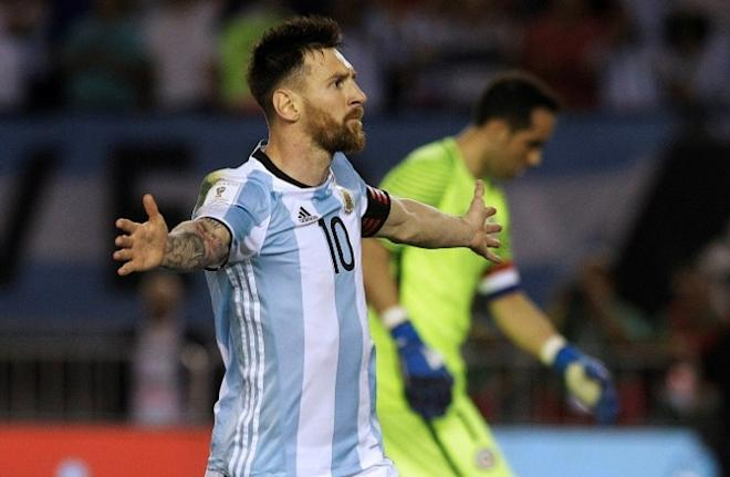 Lionel Messi, Argentina, Chile, World Cup, South American qualifiers