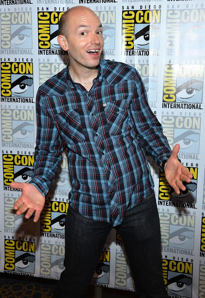"""Actor Paul Sheer attends the """"Adult Swim - National Terrorism Strike Force: San Diego Sport Utility Vehicle"""" panel during Comic-Con International 2012 held at the Hilton San Diego Bayfront Hotel on July 13, 2012 in San Diego, California."""