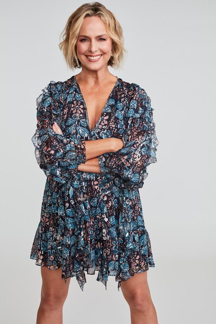 """Melora Hardin """"Dancing with the Stars"""" cast photo"""