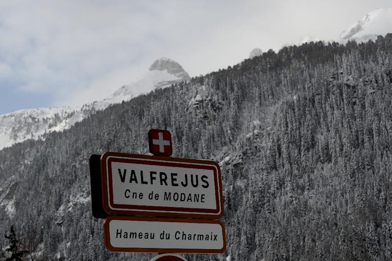 A group of three Dutch snowboarders were off-piste on Tuesday when they were swept away in the Valfrejus resort, mountain rescue services said (AFP Photo/Jean-Pierre CLATOT)