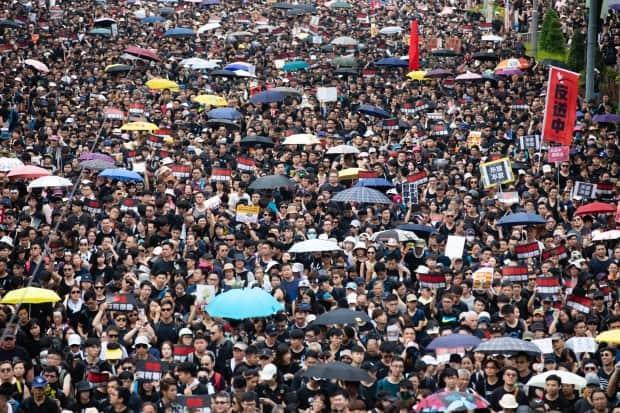 Nearly two million people flooded Hong Kong's streets during mass demonstrations in June 2019. The protesters were voicing their concern over China's expanding influence and the erosion of democratic rights.
