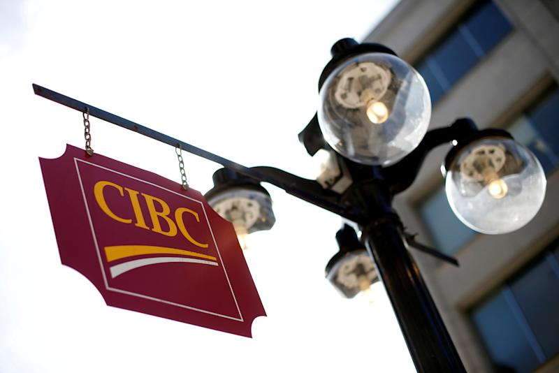FILE PHOTO: A Canadian Imperial Bank of Commerce sign is seen outside of a branch in Ottawa
