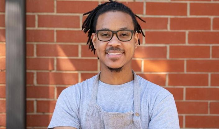 Chef Kentrell French of Stable Hand.