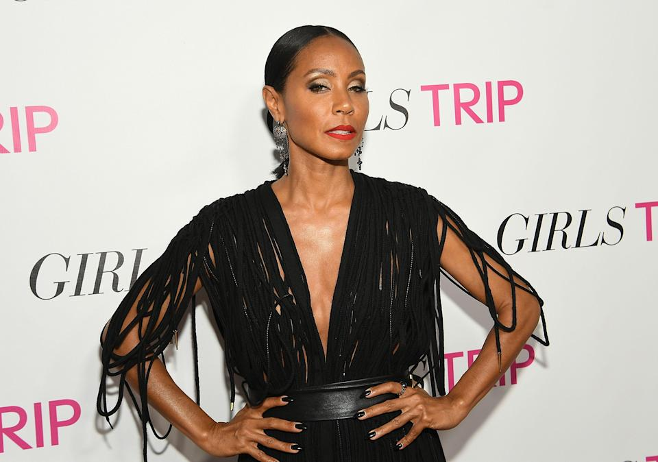 Jada Pinkett Smith's bikini selfie is turning heads. (Photo: Paras Griffin/Getty Images for Universal Pictures)