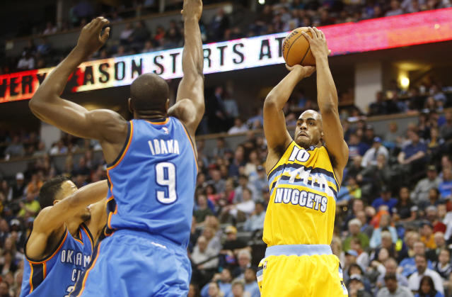 Blazers enter West arms race, add Arron Afflalo from Nuggets for playoff push