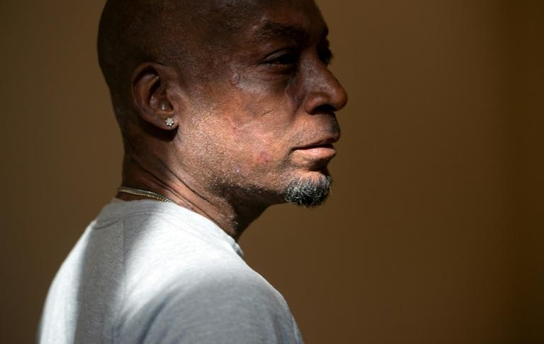 Plaintiff Dewayne Johnson looks on after hearing the verdict in his case against Monsanto; the cancer-stricken groundskeeper on October 31, 2018 accepted a slashed award in a landmark trial focused on weed-killer Roundup, setting the stage for an appeal by maker Monsanto
