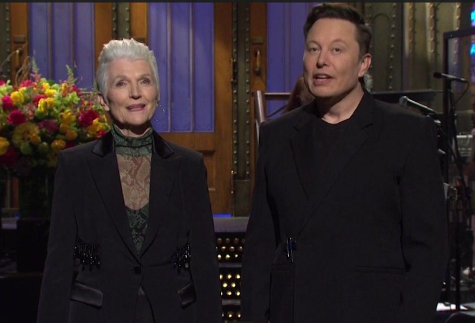<p>Elon Musk plugged Dogecoin on SNL - and the price immediately plummeted</p> (NBC)