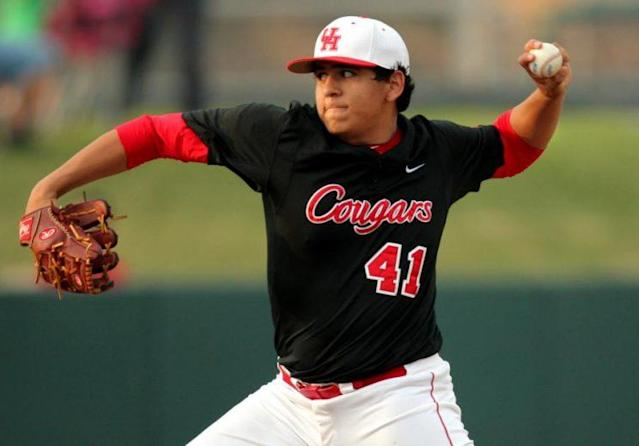 Seth Romero was dismissed by his college team which will further complicate his already cloudy draft status. (UH Cougars)