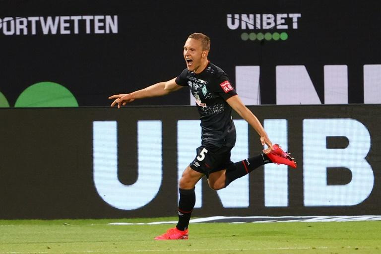 Swedish defender Ludwig Augustinsson scored Bremen's late second goal at Heidenheim which confirmed their Bundesliga survival