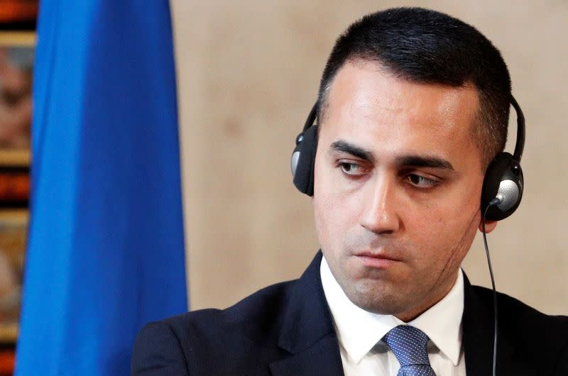Italy's Di Maio says 'pragmatism' comment referred to EU, not ESM