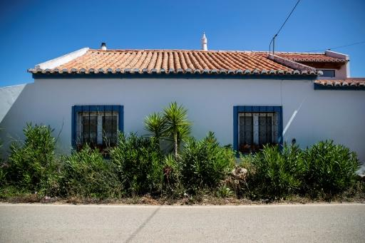 Picture shows the house near Lagos on the Algarve where a German suspect in the Madeleine McCann case was living when she disappeared in 2007