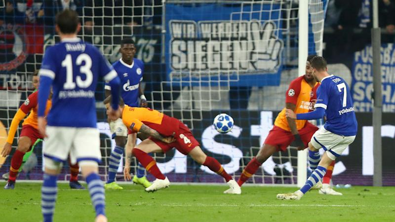 Schalke 2 Galatasaray 0: Germans tighten grip on second place