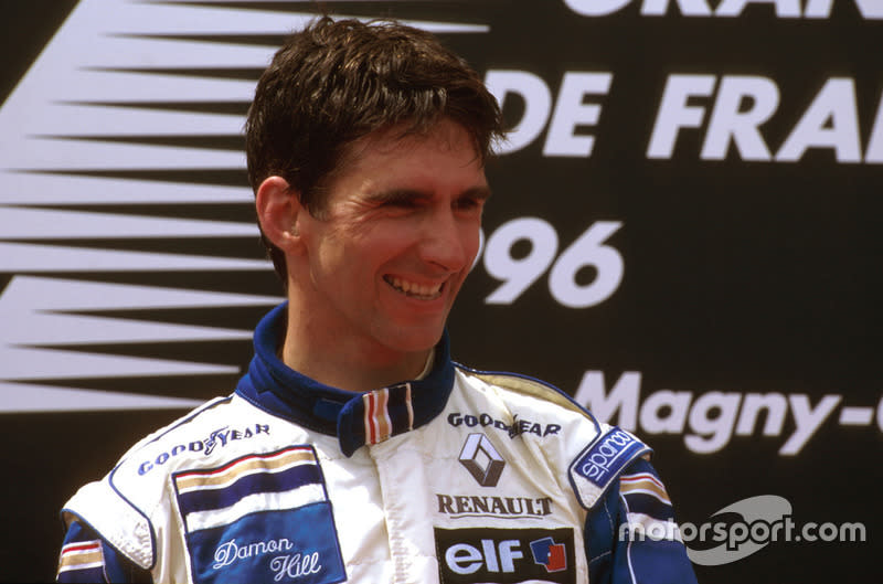 "Damon Hill (1996)<span class=""copyright"">LAT Images</span>"