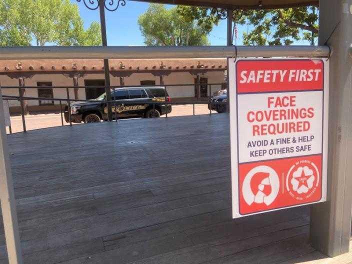 New Mexico struggles to stop tourists and slow the spread of COVID-19