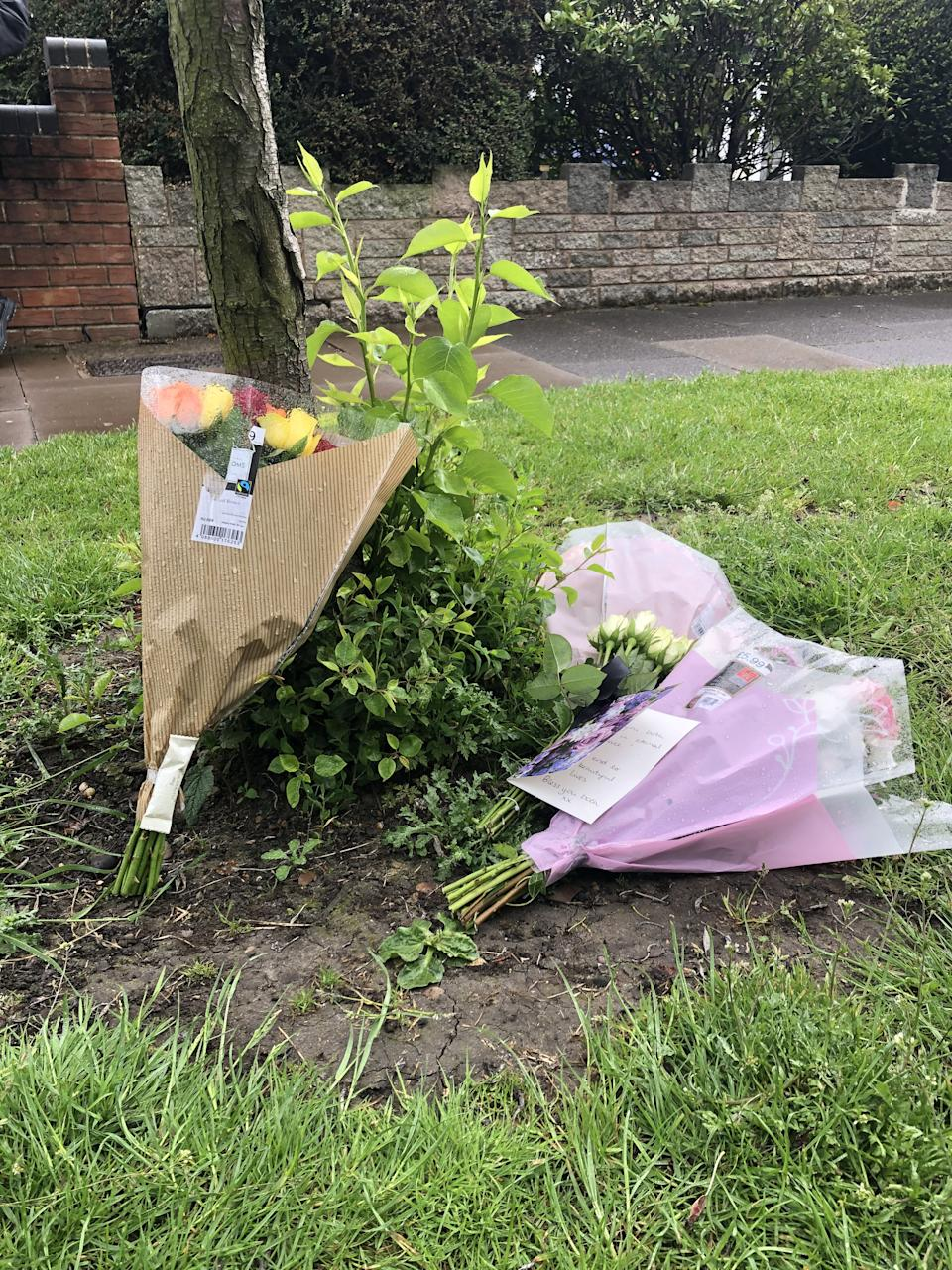 Tributes have been left to the couple, who reportedly had five children. (SWNS)