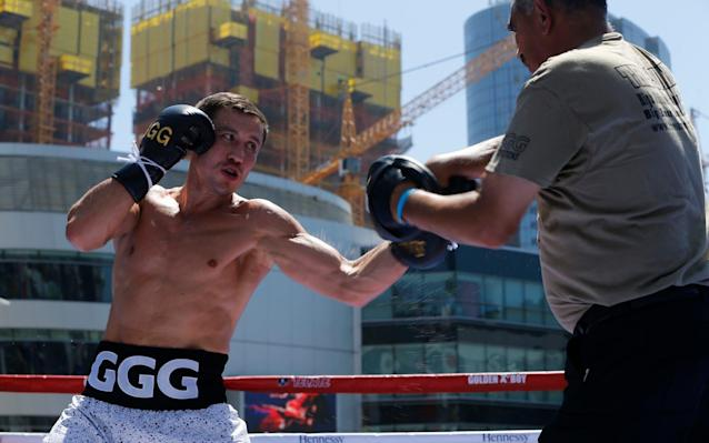 'Triple G' is looking to maintain his unblemished career record - AP