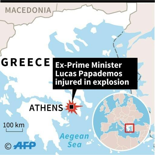 Greek police probing security failures in attack on ex-PM