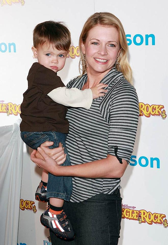 "Lawrence is teaming up with Melissa Joan Hart to star in a new sitcom for ABC Family, which will hit the airwaves in summer 2010. Unfortunately, the actress' 20-month-old son Brady doesn't seem to love the cameras as much as his mommy does! Jesse Grant/<a href=""http://www.wireimage.com"" target=""new"">WireImage.com</a> - December 9, 2009"