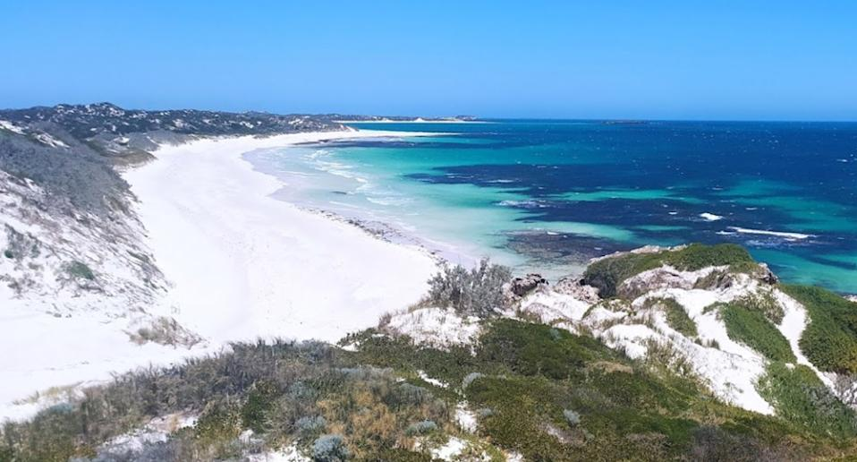 The skydiver died on Sunday after crash landing in Jurien Bay, north of Perth. Source: Google Maps